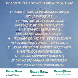 Jaarprogramma voor startende ondernemers en startende kennispartners.